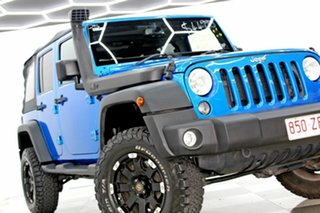 2015 Jeep Wrangler Unlimited JK MY16 Sport (4x4) Blue 5 Speed Automatic Softtop.