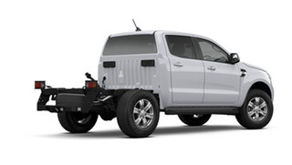 2021 Ford Ranger PX MkIII 2021.25MY XLT Double Cab Arctic White 6 Speed Sports Automatic