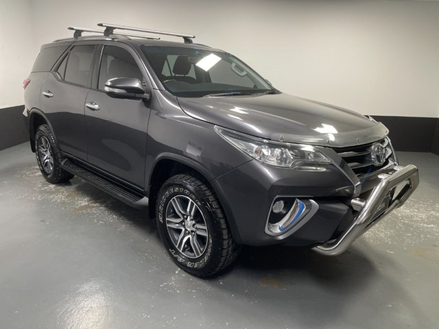 Used Toyota Fortuner GUN156R GXL Rutherford, 2015 Toyota Fortuner GUN156R GXL Grey 6 Speed Automatic Wagon