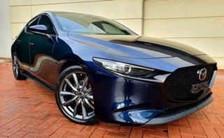 2019 Mazda 3 BP G25 GT Blue 6 Speed Automatic Hatchback.
