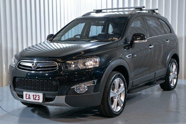Used Holden Captiva CG MY13 7 AWD LX Hendra, 2013 Holden Captiva CG MY13 7 AWD LX Black 6 Speed Sports Automatic Wagon