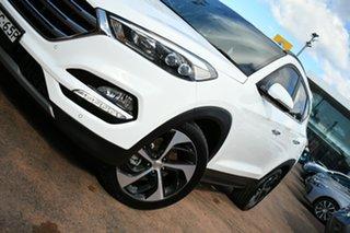 2016 Hyundai Tucson TLE Highlander (AWD) White 7 Speed Auto Dual Clutch Wagon.