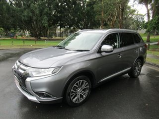 2016 Mitsubishi Outlander ZK MY17 LS 2WD Safety Pack Grey 6 Speed Constant Variable Wagon
