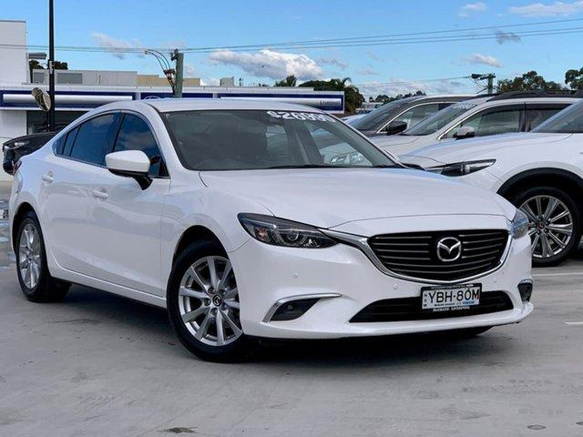 Used Mazda 6 GL1031 Touring SKYACTIV-Drive Liverpool, 2017 Mazda 6 GL1031 Touring SKYACTIV-Drive Snowflake White Pearl 6 Speed Sports Automatic Sedan