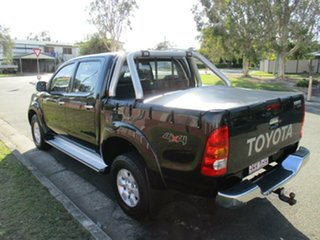 2006 Toyota Hilux GGN25R MY05 SR5 Black 5 Speed Automatic Utility