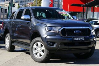 2021 Ford Ranger PX MkIII 2021.75MY XLT Double Cab Grey 6 Speed Sports Automatic Double Cab Chassis.