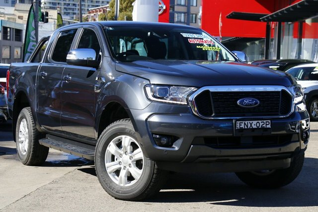 Used Ford Ranger PX MkIII 2021.75MY XLT Double Cab Homebush, 2021 Ford Ranger PX MkIII 2021.75MY XLT Double Cab Grey 6 Speed Sports Automatic Double Cab Chassis