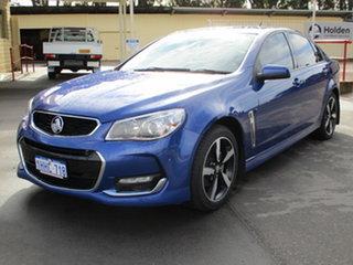 2017 Holden Commodore VFII MY17 SV6 Blue 6 Speed Sports Automatic Sedan.