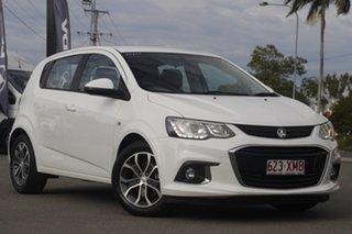 2017 Holden Barina TM MY17 LS Summit White 6 Speed Automatic Hatchback.