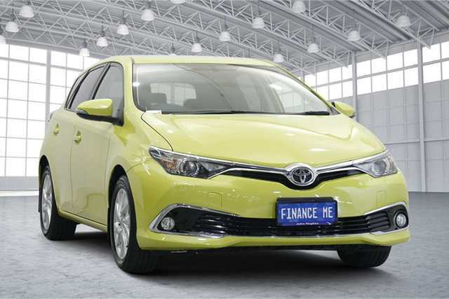 Used Toyota Corolla ZRE182R Ascent Sport S-CVT Victoria Park, 2015 Toyota Corolla ZRE182R Ascent Sport S-CVT Green 7 Speed Constant Variable Hatchback