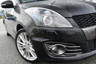 2014 Suzuki Swift FZ MY14 Sport Black 6 Speed Manual Hatchback.