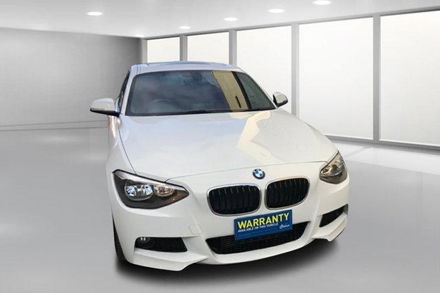 Used BMW 1 Series F20 125i Steptronic West Footscray, 2012 BMW 1 Series F20 125i Steptronic White 8 Speed Sports Automatic Hatchback