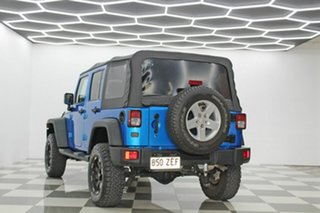 2015 Jeep Wrangler Unlimited JK MY16 Sport (4x4) Blue 5 Speed Automatic Softtop