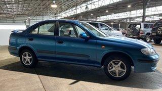 2000 Nissan Pulsar N16 ST Blue 4 Speed Automatic Sedan.