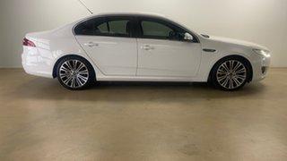 2014 Ford Falcon FG X G6E Turbo White 6 Speed Automatic Sedan.