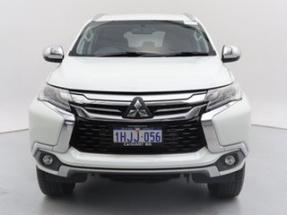 2017 Mitsubishi Pajero Sport MY16 GLX (4x4) 5 Seat White 8 Speed Automatic Wagon.