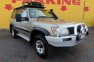 2001 Nissan Patrol GU II ST Silver 4 Speed Automatic Wagon.