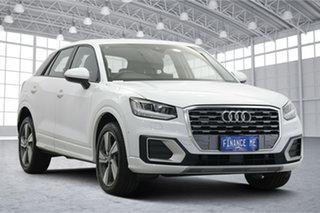 2019 Audi Q2 GA MY20 40 TFSI S Tronic Quattro Sport White 7 Speed Sports Automatic Dual Clutch Wagon.