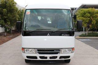 2017 Mitsubishi Fuso Rosa BE64D Deluxe White Manual Midi Coach.