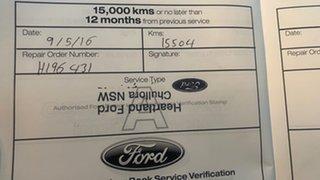 2014 Ford Falcon FG X G6E Turbo White 6 Speed Automatic Sedan