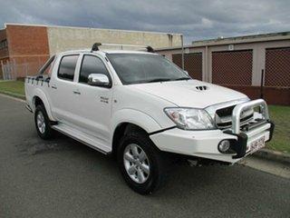 2011 Toyota Hilux KUN26R MY10 SR5 White 5 Speed Manual Utility.