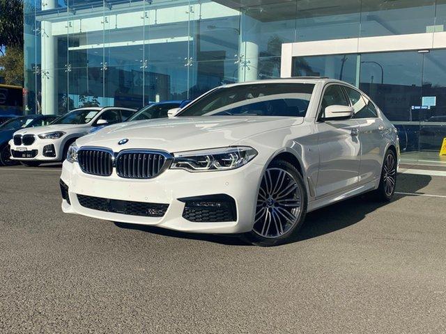 Used BMW 520i F10 MY17 M Sport Brookvale, 2020 BMW 520i F10 MY17 M Sport Alpine White 8 Speed Auto Sports Mode Sedan