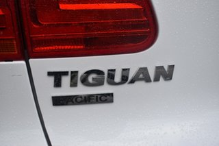2014 Volkswagen Tiguan 5N MY14 132TSI DSG 4MOTION Pacific White 7 Speed Sports Automatic Dual Clutch