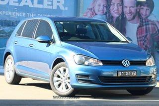 2015 Volkswagen Golf AU MY16 92 TSI Comfortline Blue 7 Speed Auto Direct Shift Wagon.