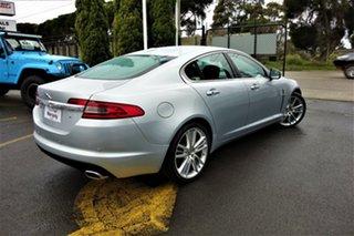 2009 Jaguar XF X250 MY10 Portfolio Silver 6 Speed Sports Automatic Sedan.