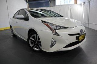 2016 Toyota Prius ZVW50R I-Tech White 1 Speed Constant Variable Liftback Hybrid.