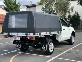 2017 Mitsubishi Triton MQ MY18 GLX 4x2 White 5 Speed Sports Automatic Cab Chassis.
