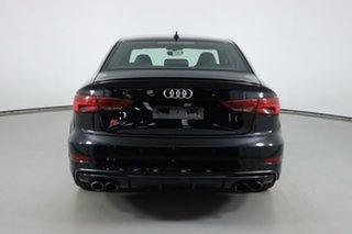 2019 Audi S3 8V MY19 2.0 TFSI Quattro Black 7 Speed Auto S-Tronic Sedan