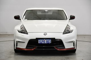2018 Nissan 370Z Z34 MY19 Nismo White 6 Speed Manual Coupe.