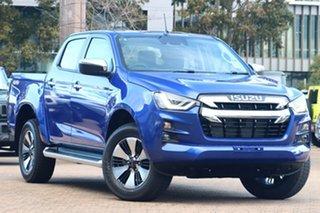 2021 Isuzu D-MAX RG MY21 LS-U (4x4) Cobalt Blue 6 Speed Auto SEQ Sports Mode Crew Cab Utility.