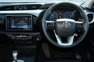 2015 Toyota Hilux GGN25R MY14 SR5 Double Cab Black 5 Speed Automatic Utility