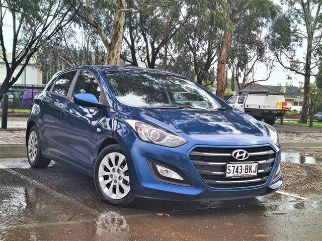 Used Hyundai i30 GD3 Series II MY16 Active St Marys, 2015 Hyundai i30 GD3 Series II MY16 Active Blue 6 Speed Sports Automatic Hatchback