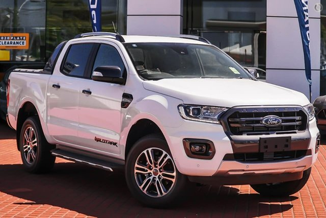 Demo Ford Ranger PX MkIII 2021.25MY Wildtrak Ferntree Gully, 2020 Ford Ranger PX MkIII 2021.25MY Wildtrak White 6 Speed Sports Automatic Double Cab Pick Up