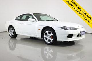 2001 Nissan 200SX S15 Spec S White 4 Speed Automatic Coupe.
