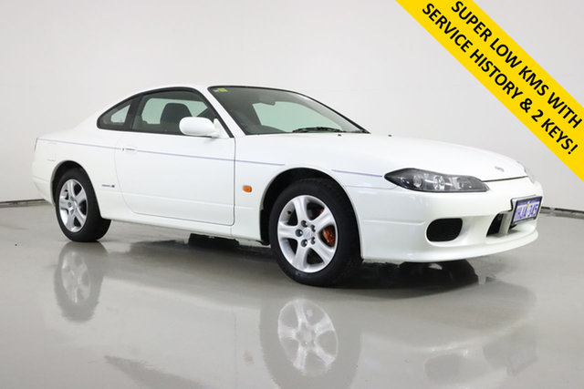 Used Nissan 200SX S15 Spec S Bentley, 2001 Nissan 200SX S15 Spec S White 4 Speed Automatic Coupe