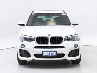2016 BMW X3 F25 MY16 xDrive20d White 8 Speed Automatic Wagon.