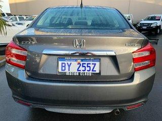 2012 Honda City GM MY12 VTi Grey 5 Speed Automatic Sedan.