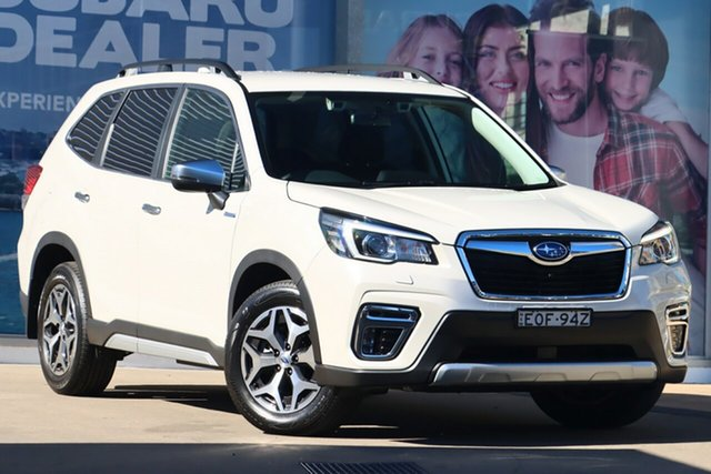Used Subaru Forester MY20 2.0E-L Hybrid (AWD) Rosebery, 2020 Subaru Forester MY20 2.0E-L Hybrid (AWD) Crystal White Continuous Variable Wagon