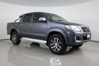 2014 Toyota Hilux GGN25R MY14 SR5 (4x4) Grey 5 Speed Automatic Dual Cab Pick-up.