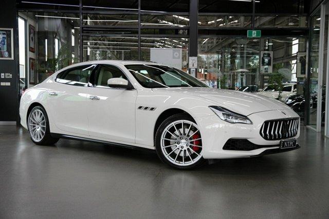 Used Maserati Quattroporte M156 MY18 North Melbourne, 2018 Maserati Quattroporte M156 MY18 White 8 Speed Sports Automatic Sedan