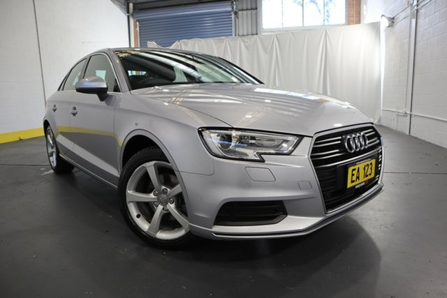 Used Audi A3 8V MY17 S Tronic Castle Hill, 2017 Audi A3 8V MY17 S Tronic Silver 7 Speed Sports Automatic Dual Clutch Sedan