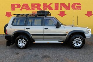 2001 Nissan Patrol GU II ST Silver 4 Speed Automatic Wagon