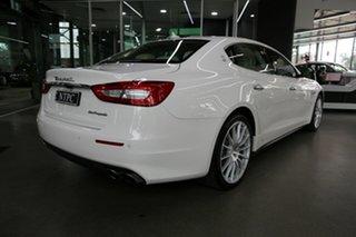 2018 Maserati Quattroporte M156 MY18 White 8 Speed Sports Automatic Sedan