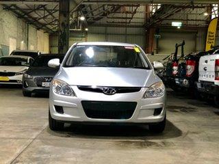 2010 Hyundai i30 FD MY10 SX Silver 4 Speed Automatic Hatchback.