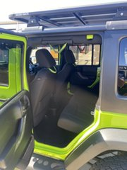 2012 Jeep Wrangler JK MY2012 Unlimited Sport Green/281212 5 Speed Automatic Softtop