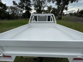 2015 Toyota Hilux GUN125R Workmate Extra Cab White 6 Speed Manual Cab Chassis